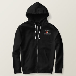 Classic Sherpa-lined Zip Hoodie