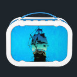 "Classic Ship Lunch Box<br><div class=""desc"">Historical classic sailing ship</div>"