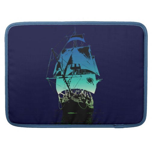 Classic Ship Sleeve For MacBook Pro
