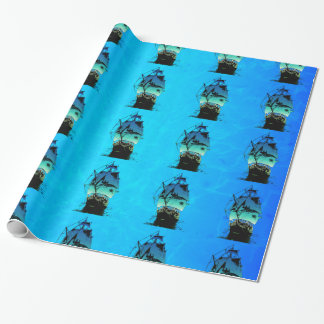 Classic Ship Wrapping Paper