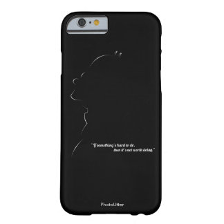 Classic Silhouette Barely There iPhone 6 Case