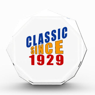Classic Since 1929 Award