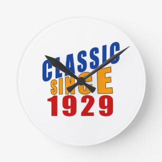 Classic Since 1929 Round Clock