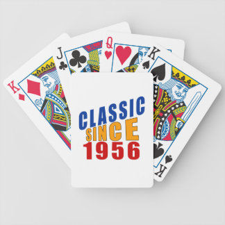 Classic Since 1956 Bicycle Playing Cards