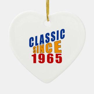 Classic Since 1965 Ceramic Ornament