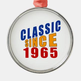 Classic Since 1965 Metal Ornament