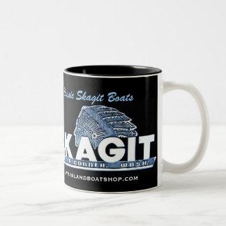 Classic Skagit Boats mug