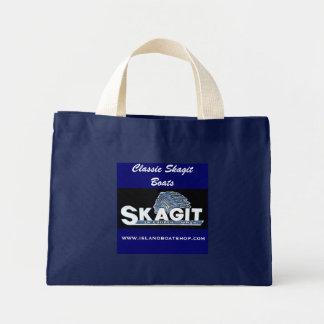 Classic Skagit Boats tote bag
