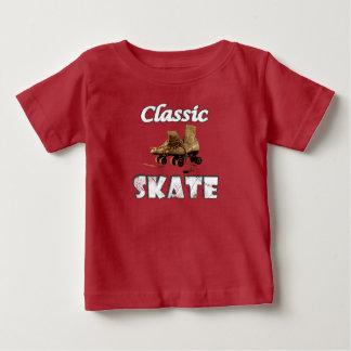 Classic Skate Vintage Leather Roller Skates Baby T-Shirt