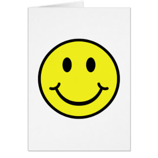 Classic Smiley Card
