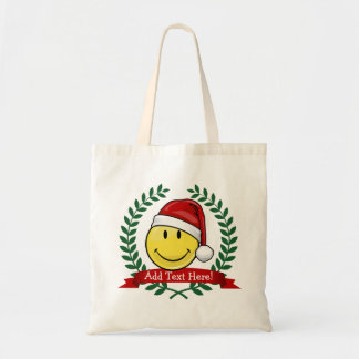 Classic Smiley Face Holiday Style Budget Tote Bag