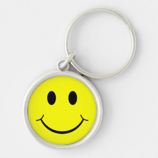 Classic Smiley Face Keychain