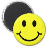 Classic Smiley Refrigerator Magnet