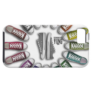 Classic Sneakers Circle Phone Cases