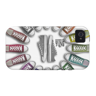 Classic Sneakers Circle Phone Cases Case-Mate iPhone 4 Cases