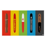 Classic Snowboards - The Snurfer Era Posters