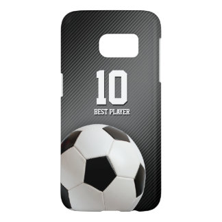 Classic Soccer | Football Best Player No. Samsung Galaxy S7 Case