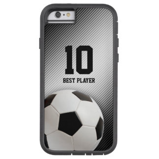 Classic Soccer   Football Best Player No. Tough Xtreme iPhone 6 Case