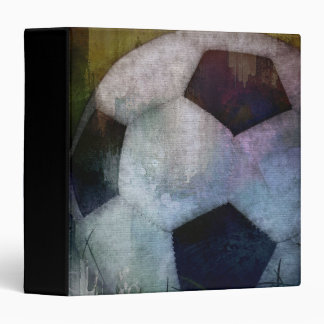 "Classic Soccer Textured Painting 1.5"" Photo Album Binder"