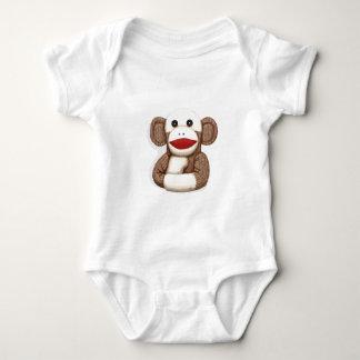 Classic Sock Monkey Baby Bodysuit