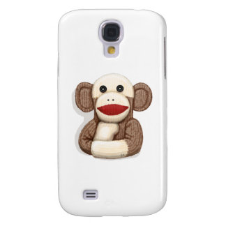 Classic Sock Monkey Samsung Galaxy S4 Covers
