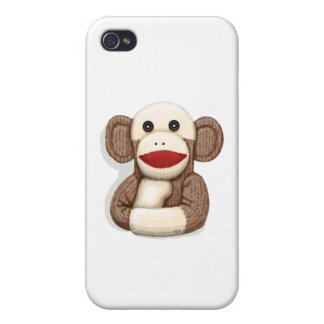 Classic Sock Monkey iPhone 4/4S Cover