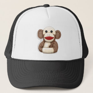 Classic Sock Monkey Trucker Hat