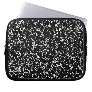 Classic Speckled Notebook Design Computer Sleeve