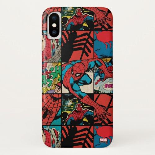 Classic Spider-Man Comic Book Pattern Phone Case