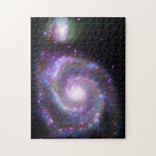 Classic Spiral Galaxy Jigsaw Puzzle