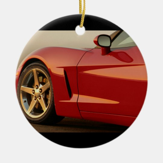 Classic Split Window Cars Ceramic Ornament