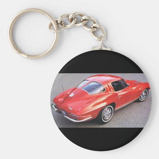 Classic Split Window Cars Keychain