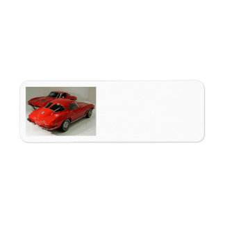 Classic Split Window Cars Label