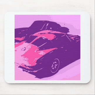 Classic Split Window Cars Mouse Pad
