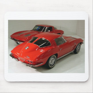 Classic Split Window Cars Mouse Pad