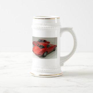 Classic Split Window Cars 18 Oz Beer Stein