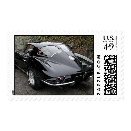 Classic Split Window Cars Stamp