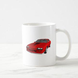 Classic Sports Car: 3D Model: Mugs
