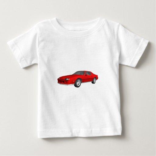 Classic Sports Car: 3D Model: Tee Shirt