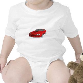 Classic Sports Car 3D Model Shirts