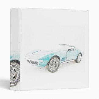 Classic Sports Car Binder