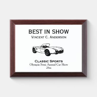 Classic Sports Car Award