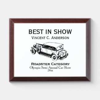 Classic Sports Car Specific Award