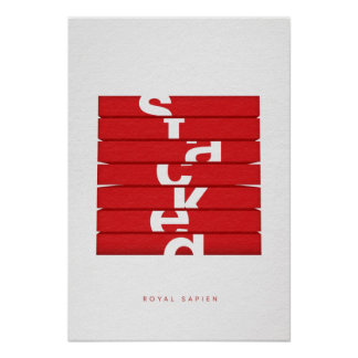 Classic STACKED Cover Art Print
