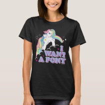 Classic Starshine | I Want A Pony T-Shirt