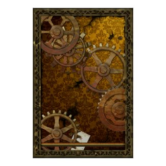 Classic Steampunk Poster print