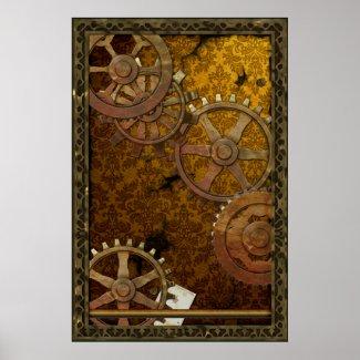 Classic Steampunk Poster print