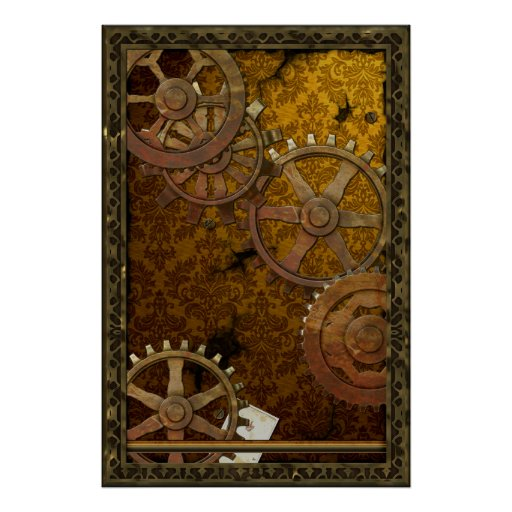 Classic Steampunk Poster