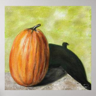 Classic still life pumpkin posters