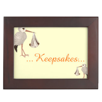 Classic Stork (Neutral) 2 Memory Box
